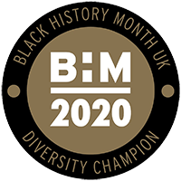 Black History Month UK, Diversity Champion, 2020