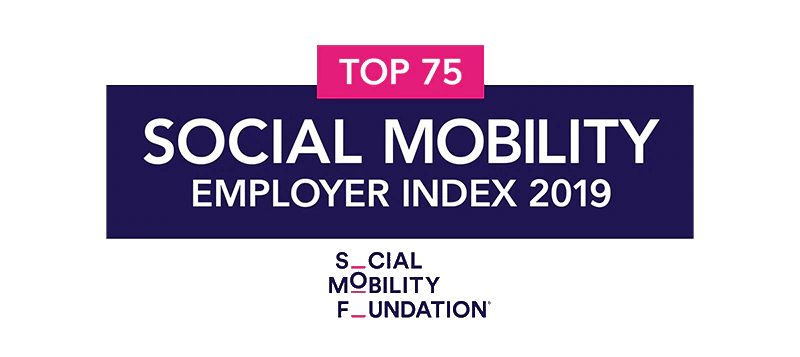 Social Mobility Foundation, Top 75, Social Mobility Employer Index 2019